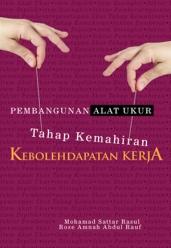 Buku Pembangunan Alat Ukur Kemahiran Kebolehdapatan Kerja.