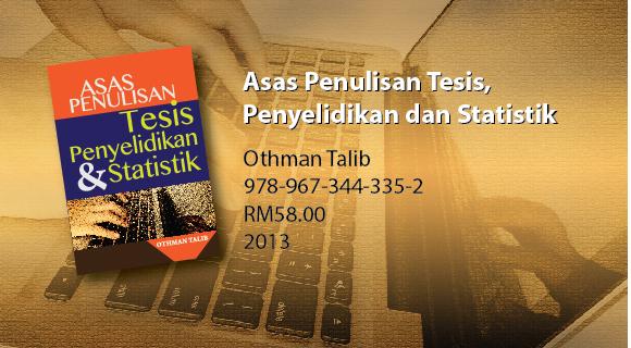 Asas Penulisan Tesis, Penyelidikan dan Statistik